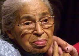 Mrs. Rosa Parks: Rebellious, courageous, beautiful, indomitable warrior for justice.
